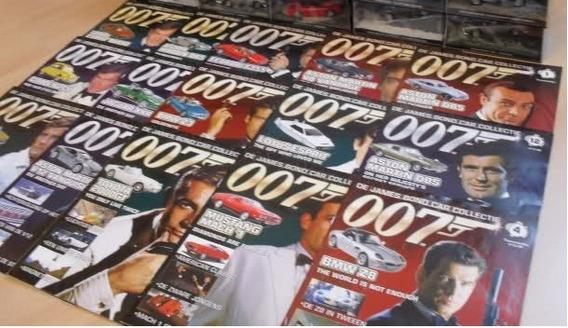 Fasciculo James Bond Cars Revista Avulsa Valor Unitario