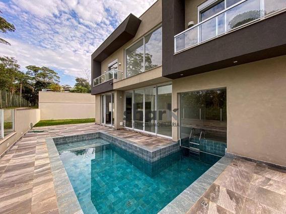 Casa Com 4 Dormitórios À Venda, 462 M² Por R$ 3.400.000,00 - Gênesis 1 - Santana De Parnaíba/sp - Ca0199