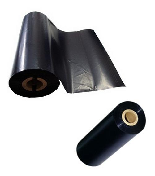 Ribbon De Cera 110x74m P/ Impressoras Zebra Gc420 / Argox