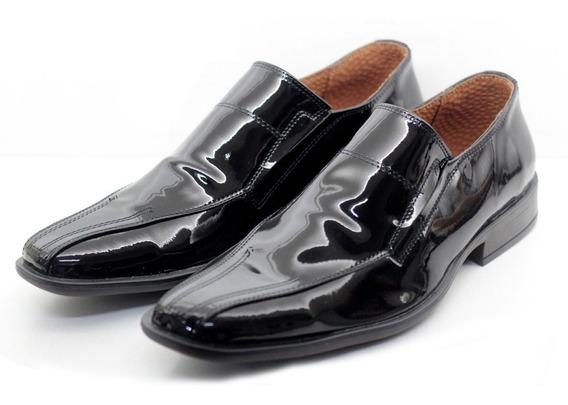 Zapato De Vestir De Hombre Elastico Charol (art. 1243/12)