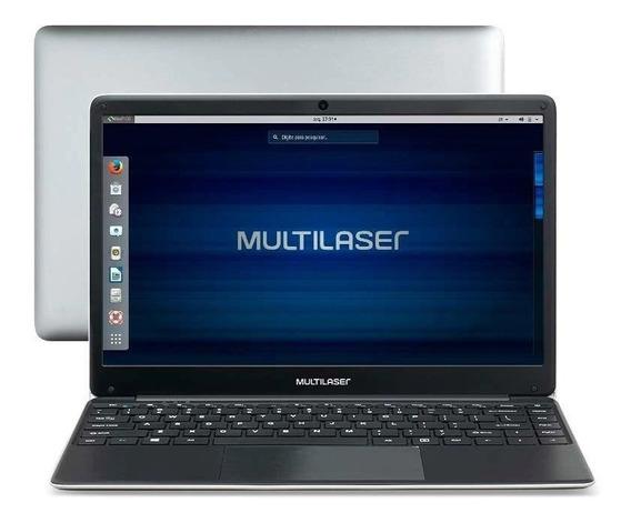 Notebook Celeron 4gb 500gb Tela 14´´ Linux - Barato