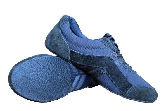 Zapatillas Light Sneakers Danza - Cuero - Suela Crepina