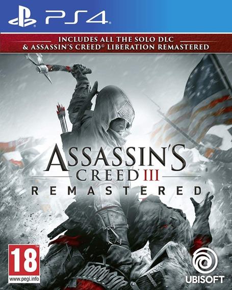 Assassins Creed 3 - Ps4 - Original 1 Português