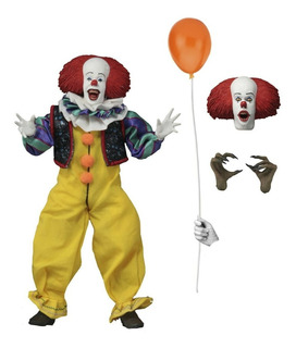 Neca It 1990 Pennywise 8 Inch Clothed