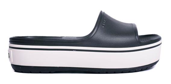 Ojotas Crocs Crocband Platform Slide-c205631-c066- Open Spor