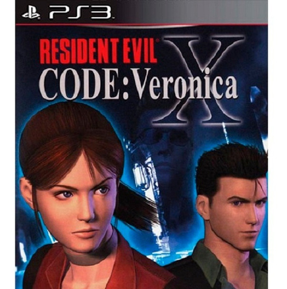 Resident Evil Code Veronica X Hd Ps3 Play3
