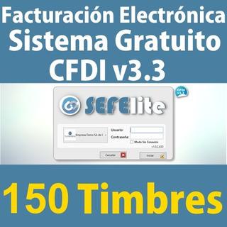 Facturación Cfdi V3.3 Programa Gratis 150 Timbres