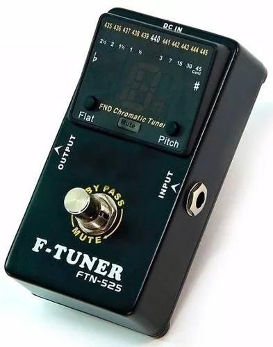 Pedal Afinador Ross Cromatico Piso Ftn-525 Soundgroup .