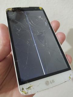 Smartphone LG L Prime D337 Branco Leia O Anúncio