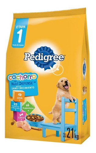 Imagen 1 de 2 de Comida Perro Pedigree Cachorro 21kg + 2 Paté + Envío