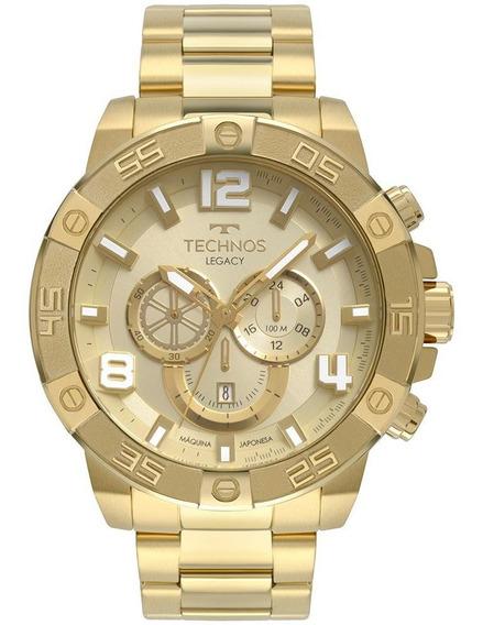 Relógio Masculino Technos Legacy Dourado Os2abn/4x