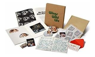 Mccartney Paul & Wings Wild Life 3 Cd + Dvd Boxed Set Box Se