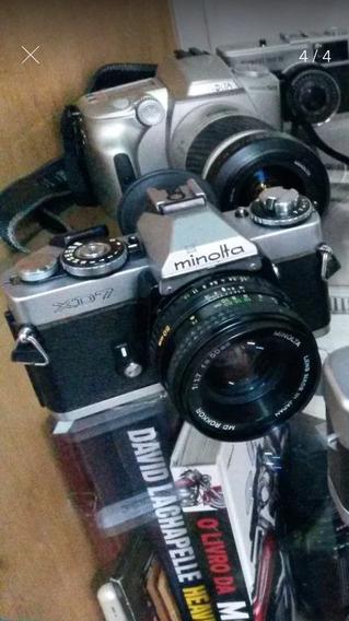 Câmera Minolta Xd-7 Câmera + Lente 50mm F/ 1.7