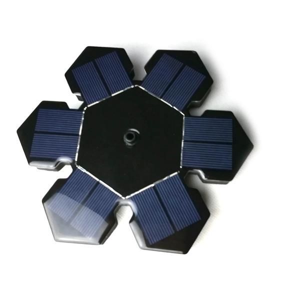Lampadas Parede Sensor Energia Solar 6led Blanco