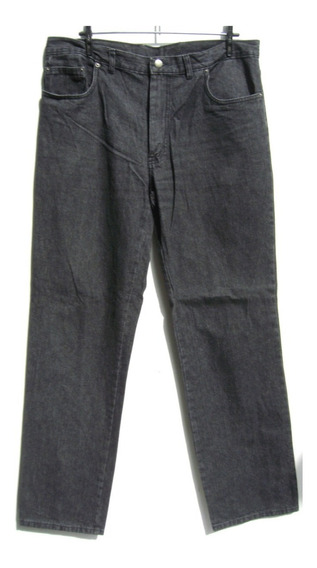 Ted Lapidus Pantalon Hombre T48 Jeans Negro (ana.mar)