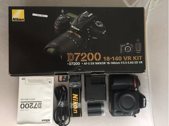 Nikon D7200 (af-s 18-140mm Vr Kit Lens) Digital Slr Camera