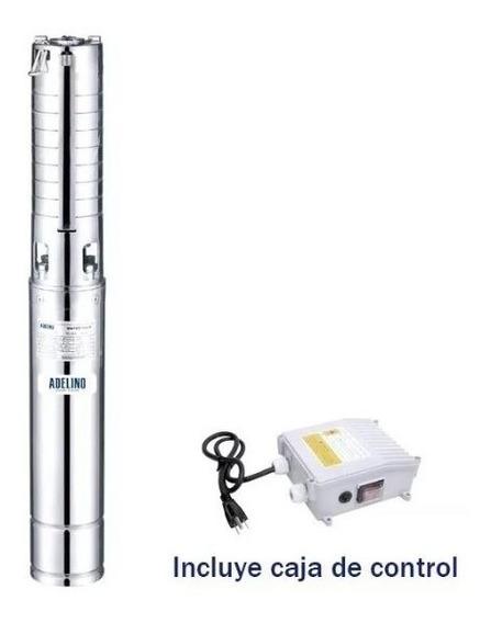 Bomba Sumergible 3 Hp 1 F Adelino 4ssm3/20
