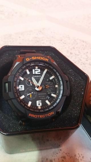 Cassio G-schok G-1400-1ad Toughsolar Seminovo 100% Original