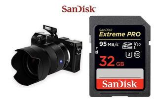 Cartão De Memória Sd Sandisk Extreme Pro 32gb 95mb/s