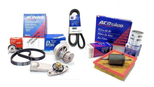 Kit Distribucion + Termo + Filtros + Poly-v Chevrolet Corsa