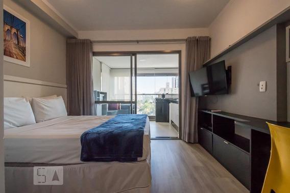 Apartamento Para Aluguel - Brooklin, 1 Quarto, 30 - 893066915