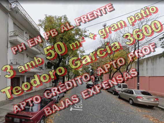 Venta Ph Pb 3 Ambientes Patio Reciclado Villa Ortuzar 669