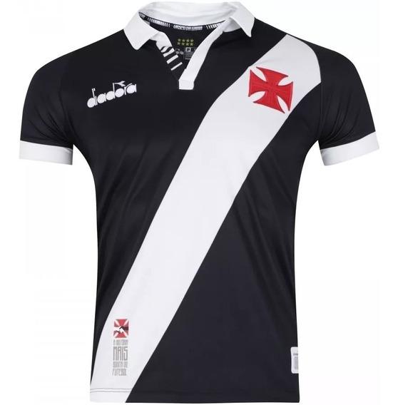 Camisa Do Vasco 2019/20 Preta Original - Frete Grátis