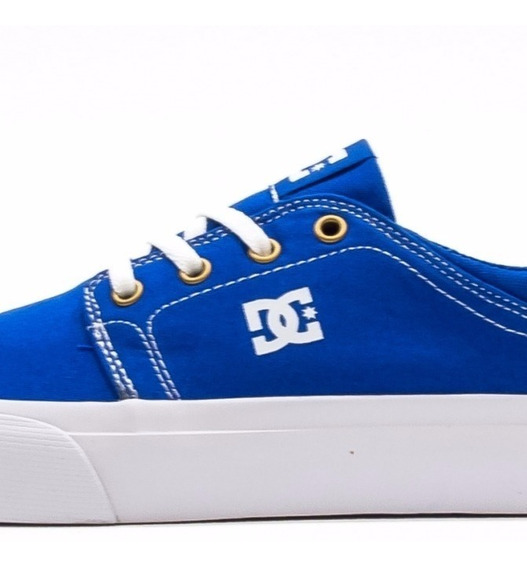 Tenis Dc Trase Tx Color Blue And White