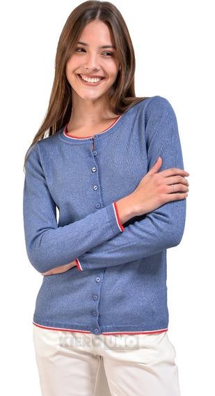 Cárdigan Sweater Americano Fino Botones Saquito - Kierouno
