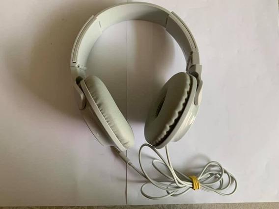 Fone De Ouvido Com Microfone Philips Shl3075wt Extra Bass