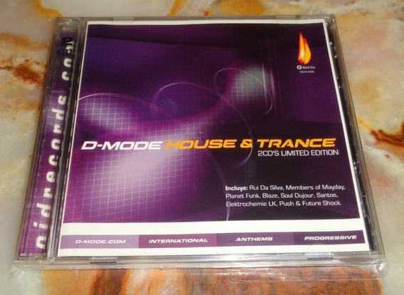 D Mode House & Trance - 2 Cds Arg