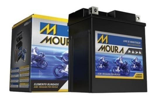 Bateria Moto Moura Ma5-d - Honda Cg Fan -titan 5ah Drafa