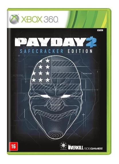 Payday 2 Safecracker Edition Xbox 360 Mídia Física Lacrado