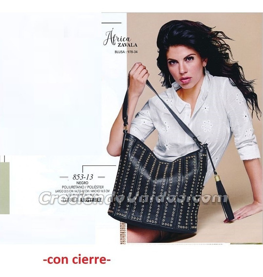 Bolsa Dama Cklass Negro 853-13 .outlet/saldos Mchn