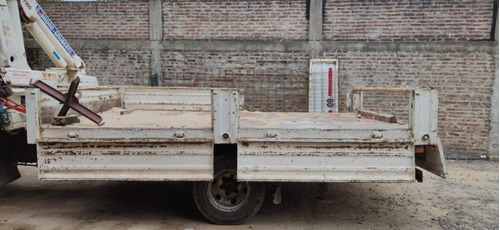 Caja Camión Con Baranda Volcable