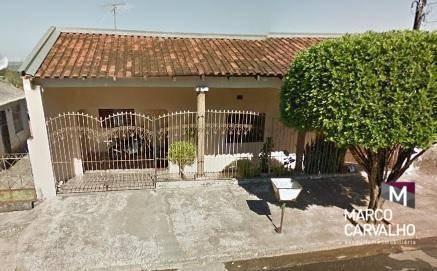 Casa Com 2 Dormitórios À Venda Por R$ 170.000,00 - Núcleo Habitacional Nova Marília - Marília/sp - Ca0166