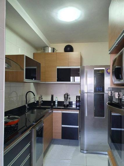 Apartamento Com 3 Dormitórios À Venda, 110 M² Por R$ 742.000 - Alphaville - Santana De Parnaíba/sp - Ap0365