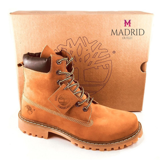 Bota Timberland Masculina Yellow Boot 6 Premium Unissex Ft