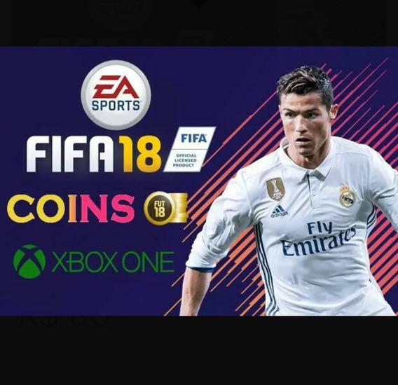 Coins Fifa 18 Xbox One Coloque O Frete Retirar No Endereço