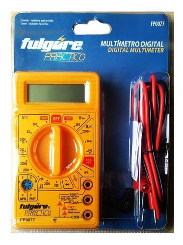 Multímetro Tester Digital Envío Gratis