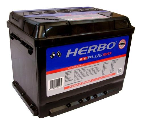 Bateria Herbo 12x65 Plus Max Chevrolet Astra 2.0 Inst.s/c.