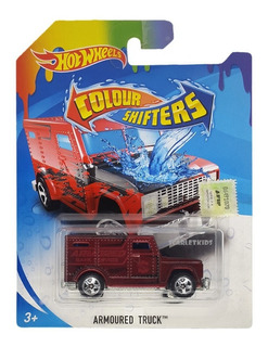 Hot Wheels Colour Shifters Auto Cambia Color Orig Scarlet