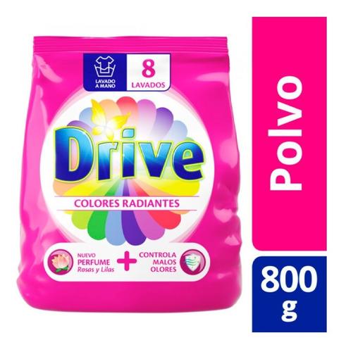 Drive Jabon En Polvo Colores Radiantes Regular 800 Gr
