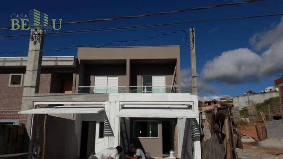 Casa Com 2 Dormitórios À Venda, 64 M² Por R$ 210.000 - Jardim Santo Antonio - Franco Da Rocha/sp - Ca0404