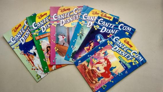 Lote Com 6 Livretos Disney A Pequena Sereia Músicas E786