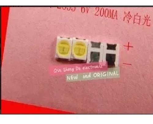 Kit 60 Leds 6v 1,8w 2835 Konka Toshiba