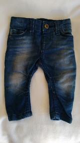 Calça Jeans Para Bebê Menino Ate 3 Meses