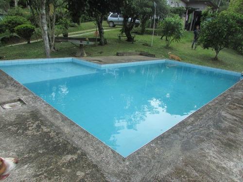 Juquitiba/chácara Com Lago/piscina/pomar/gramada/ Ref: 04731