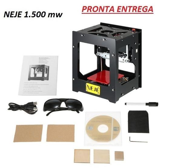 Cnc Impressora Gravadora Laser Neje 1500mw