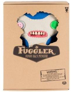 Fuggler - Monstro Pelúcia Grande 30cm - Azul